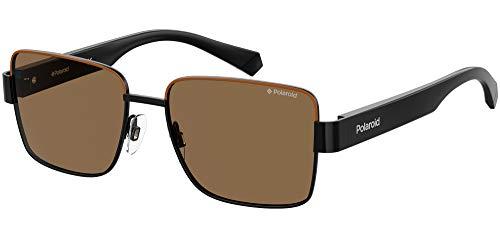 Polaroid Gafas de Sol PLD 6120/S Black Brown/Brown 54/16/145 unisex