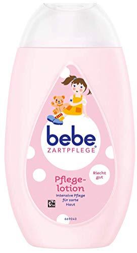 Bebe Loción de cuidado suave para niños, suave cuidado corporal con agradable aroma, 1 x 300 ml