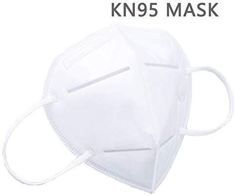 KN95 Medizinische Gesichts-Mas-Ken, FFP2, multifunktionale Schutzma-ske mit Nasenklammer,10 Stück