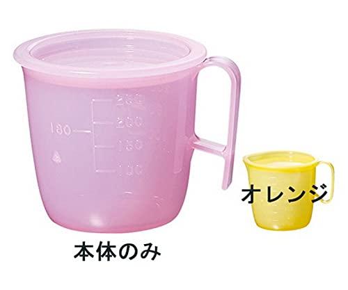 流動食コップ 小 8302 身 オレンジ/62-6858-99