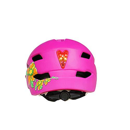 Helm ZWRY Kinderveiligheid Fietshelm Ledlamp Mtb Mountainbike Klimhelm