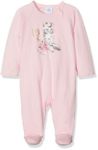Sanetta Sanetta Baby-Mädchen Overall Long Schlafstrampler, Pink (Magnolie 3609.0), 74