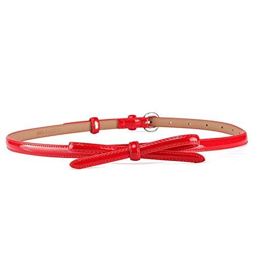 BOLAWOO-77 Nuevos Productos Cinturón Con De Pajarita Cuero Y Hombres Mode De...