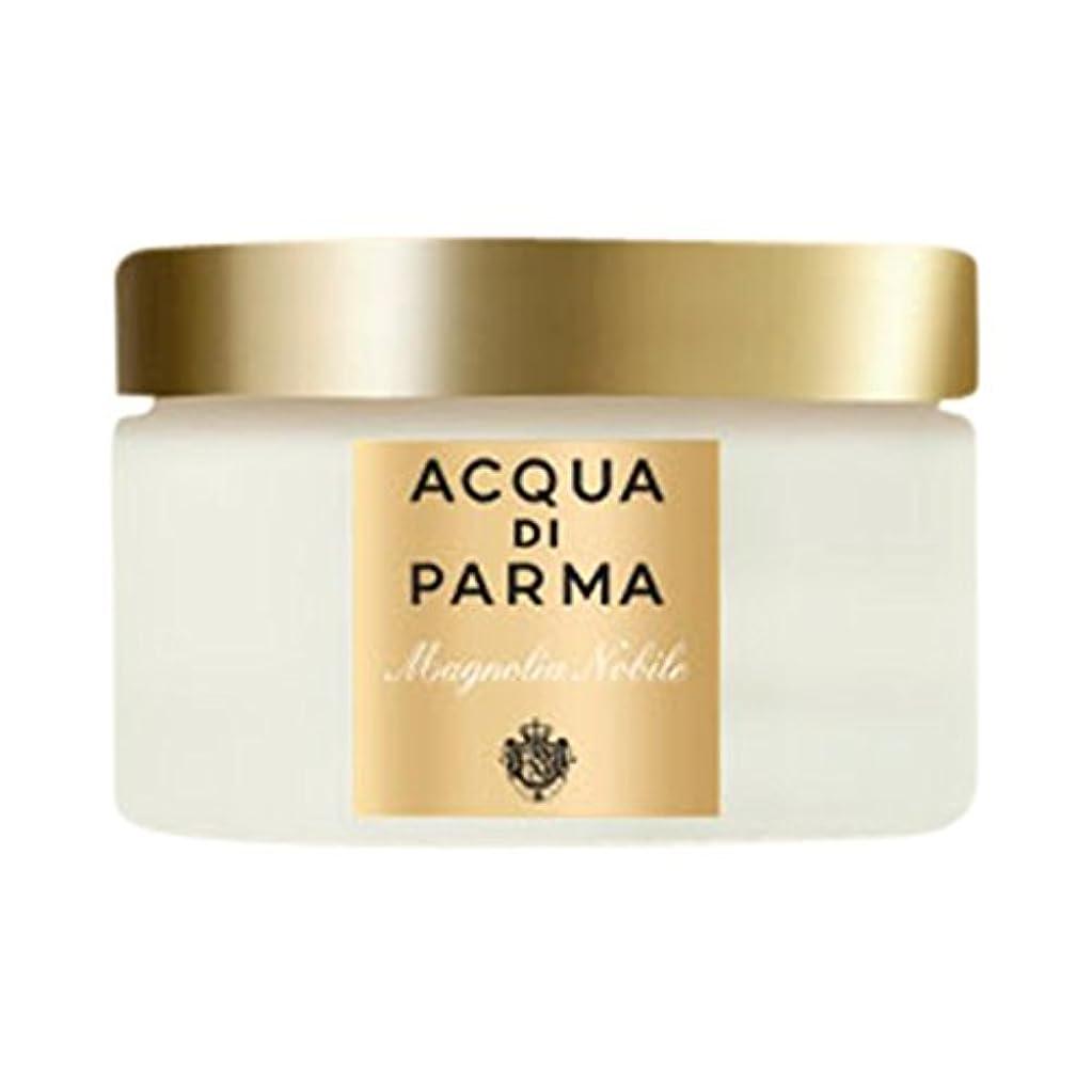カテナ蓮面白いボディクリーム150ミリリットルノビルアクア?ディ?パルマモクレン (Acqua di Parma) (x6) - Acqua di Parma Magnolia Nobile Body Cream 150ml (Pack of 6) [並行輸入品]