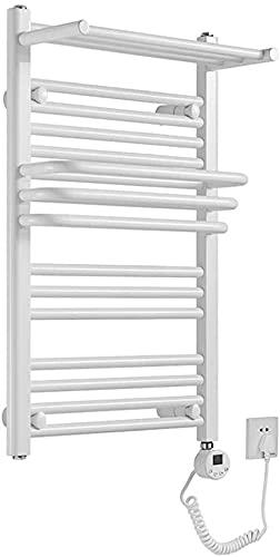 WNN-URG Toalla eléctrica Inteligente, Caja de Toalla de calefacción de baño Blanco de 400 * 650 mm con termostato (Power 300 Watt), Utilizado principalmente para familias URG