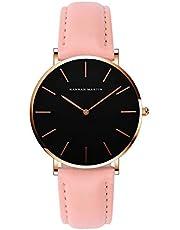 レディース 腕時計 Hannah Martin おしゃれ クラシック シンプル 女性 時計 ビジネス クォーツ watch for women