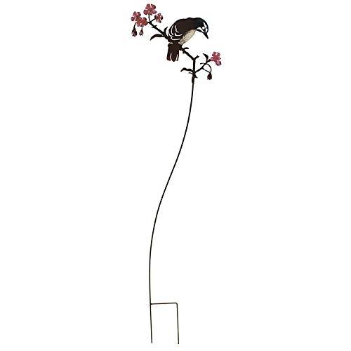 La Grande Prairie Tuteur Silhouette Oiseau sur Branche H : 93cm