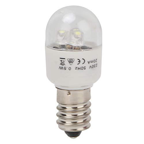 Bombilla LED para máquina de coser, lámpara de ahorro de energía de 0.5W, máquina de coser, bombilla LED, luz de trabajo LED Blub