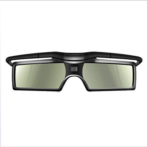 RUIHUA DLP Link GOBALLOS 3D, Gafas de Obturador activas 3D 96-144Hz para LG/BENQ/Acer/Sharp DLP Link 3D Projector Home Cinema,1pcs