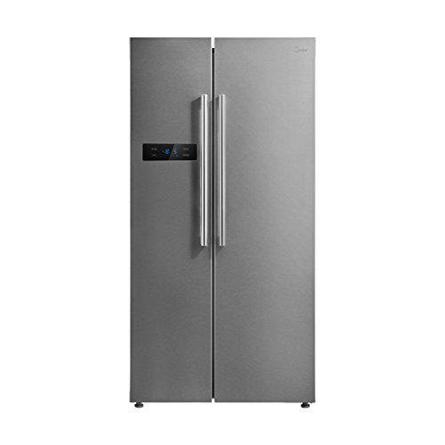 Midea KS 6.3 eco Side-by-Side Kühl-gefrierkombination/ A+++/178,8 cm/226 kWh/Jahr/335 L Kühlteil/175 L Gefrierteil/No Frost/Inverter-Technologie/Ice-Bar