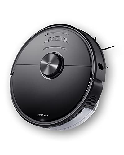 Roborock S6 MaxV Robot Vacuum Cleaner with ReactiveAI and Intelligent Mopping, No-mop Zones, Lidar Navigation, 2500Pa Strong Suction, Multi-Level Mapping, Robotic Vacuum and Mop