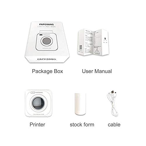 Amazing Deal Unitedheart Paperang P1 Small Size Wireless 4.0 Mobile Phone Instant Photo Printer Digital Picture Printing 1000Mah Battery Triple Base