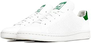 adidas STAN SMITH PRIMEKNIT J スタンスミス (S75351) FTWWHT/FTWWHT/GREEN [並行輸入品]