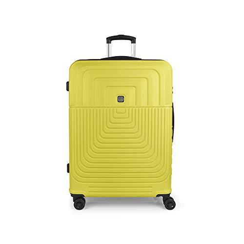 Gabol - Ego | Maleta de Viaje Grande Dura de 54 x 76 x 29 cm con Capacidad para 100 L de Color Lima