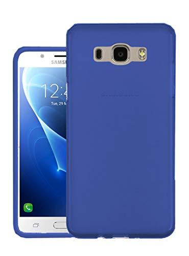 TBOC® Blau Gel TPU Hülle für Samsung Galaxy J5 (2016) SM-J510 Superdünn Flexibel Silikonhülle