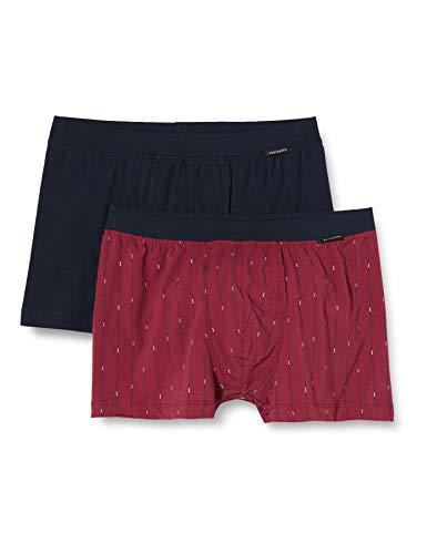 Schiesser Herren Shorts (2er Pack) Unterwäsche, Sortiert 3, XXL