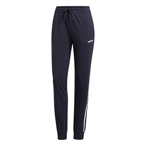 Adidas Essentials Pantalones de Punto para Mujer con Dobladillo Abierto, Essentials Tricot - Pantalones de Dobladillo Abierto, Blanco (Ink/White), Large
