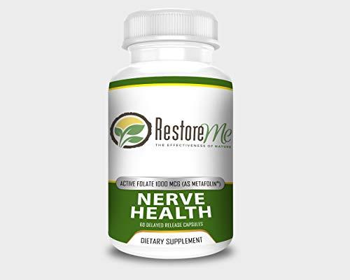 RestoreMe Nerve Health - 60 Count Bottles - Metafolin® Supplement
