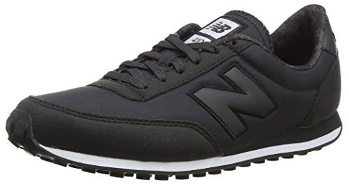 New Balance 410, Sneaker Donna, Nero (Black/White Kbk), 39 EU
