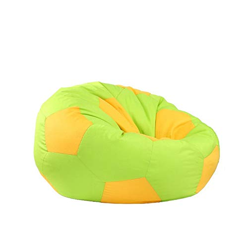 Peng sounded-hm Marshmallow Furniture Pallone da Calcio Big Joe Bean Bag Chair (Colore : Verde, Dimensione : 100cm)