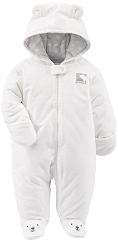 Simple Joys by Carter's Baby - Mono de forro polar con pie ,Ivory ,3-6 Months