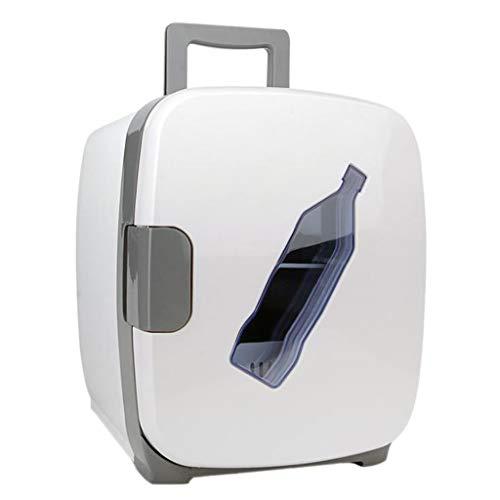 Portable Réfrigérateur, Double tension 12V / 220-240V pour la voiture et la maison, glacière électrique portative pour voiture portative, 13L pour les voyages et le camping