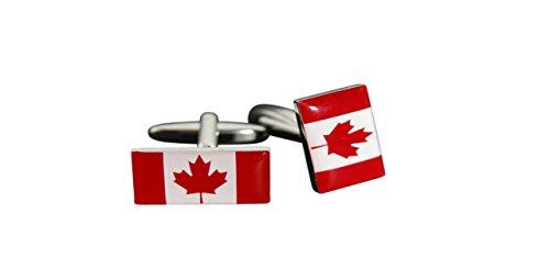 Flaggenfritze® Manschettenknöpfe Fahne / Flagge Kanada