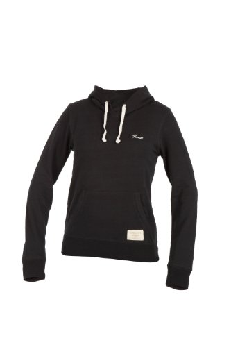Russell Athletic Sweatshirt Hooded Pull Over - Punto Deportivo, Color Negro, Talla L