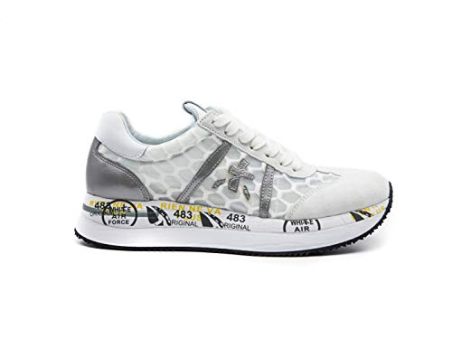 PREMIATA White Conny_4618 White Woman Sneaker