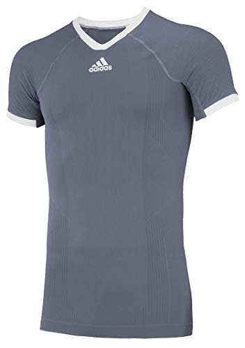 adidas Climacool Primeknit Techfit Mens Performance Compression Jersey Onix-White Small