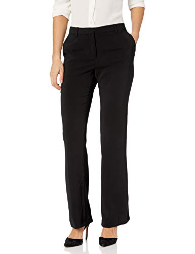 ELLEN TRACY Women's Petite Signature Trouser, el/Black, 8P
