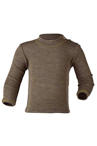 Baby-Shirt, langarm, Gr:-98/104 Farbe:-Walnuss
