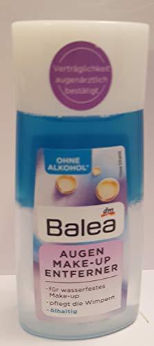 Augen Make-up Entferner ölhaltig mit Provitamin B5 für wasserfestes Make-up - Pflegt die Wimpern, 100 ml