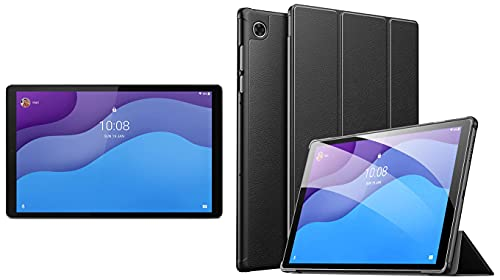 Lenovo Tab M10 HD 2nd Gen (10.1 inch, 2 GB, 32 GB, Wi-Fi) with Metallic Body + Cover