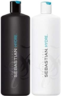 Sebastian Hydre Shampoo 1000ml & Conditioner 1000ml with Pump Dispensers