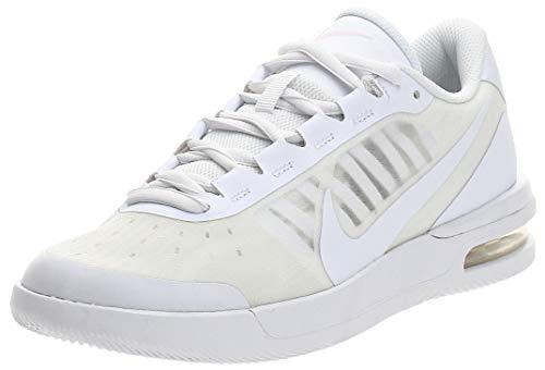 Nike Womens W AIR MAX Vapor Wing MS Tennis Shoe, WHITE/WHITE-PINK FOAM, WHITE/WHITE-PINK FOAM, 39