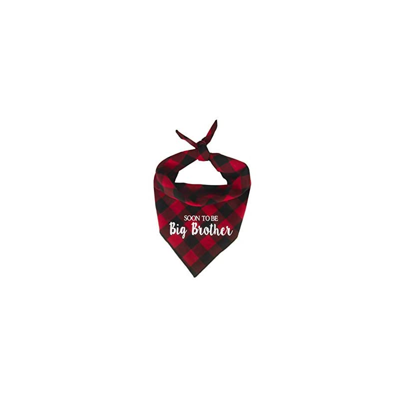dog supplies online willowear dog bandanas soon to be big brother red small