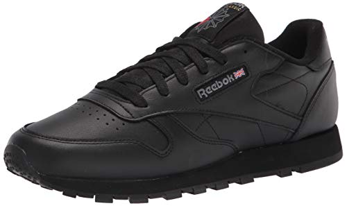 Reebok womens Classic Leather Sneaker, Black 2, 10 US