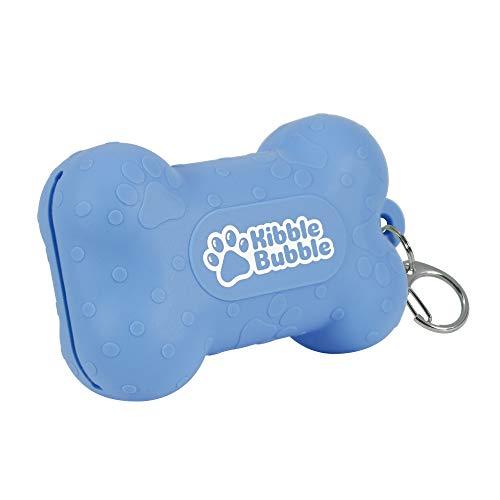 Kibble Bubble Dog Treat Pouch, Blue Bone