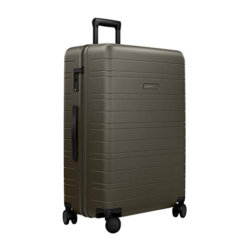 HORIZN STUDIOS H7 Check-in Luggage (90 L) with an inbuilt Compression Pad. for Trips 14+ Days. (Dark Olive)