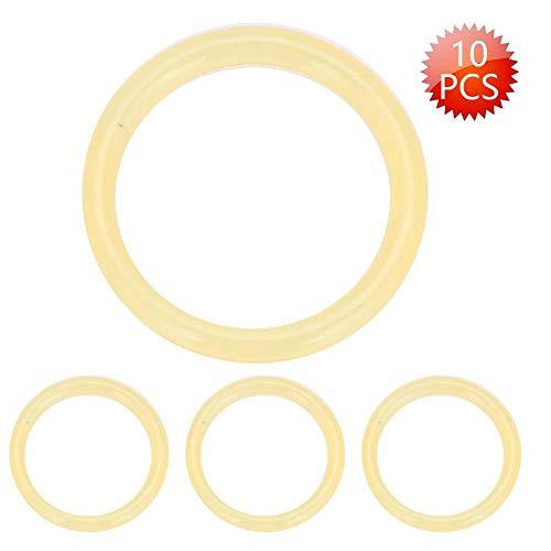 DEWIN O-Ringe - Polyurethan-O-Ringe 13,8 * 1,9 mm hochfeste Polyurethan-O-Ringe für Paintball-Pistole CO2-Lufttank 10St(Beigel)