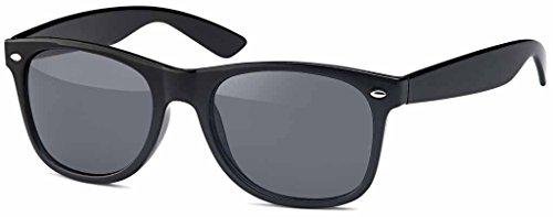 Emeco A17002 - Gafas de sol polarizadas estilo retro vintage de los 80