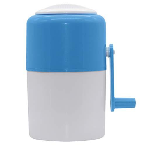 Máquina de gelo raspado Cabilock, máquina manual para cone de gelado, para cozinha residencial, portátil, ferramenta para trituração rápida de gelo