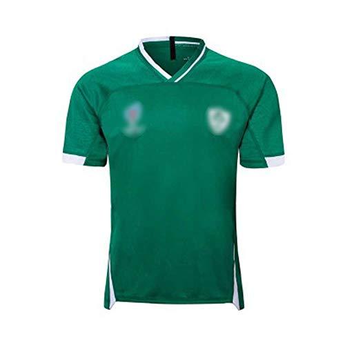 ラグビージャージ2019ワールドカップ日本アイルランドホームおよびアウェイフットボールジャージラグビー 服,男性の誕生日プレゼント-2019green-M