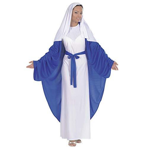 Widmann 58383 ? Adultes Costume Maria Tunique avec Cape, Ceinture et Bandeau, Taille L