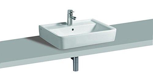 Keramag Aufsatzwaschbecken Renova Nr. 1 Plan, 225165 65x48cm weiß(Alpin) 225165000