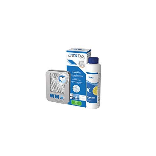 Hygiene Trio Frischwassersystem bis 120 L Entkalker, Desinfektion, Silbernetz ideal für Wohnwagen, Wohnmobil und Boot