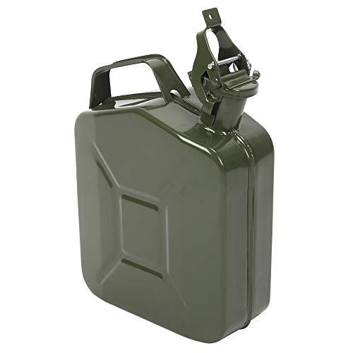 Amerikanisches Ölfass mit umgekehrtem Ölrohr, 5 l, 0,6 mm, Armeegrün