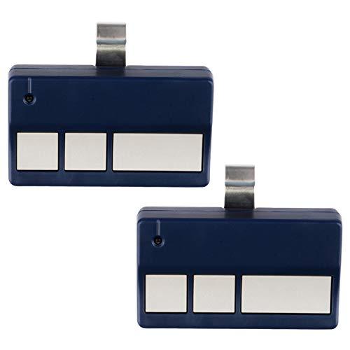 2 Garage Door Remotes for Liftmaster 973LM - Blue