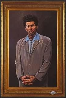 Seinfeld (The Kramer Portrait) Tv 24x36 Dry Mounted Poster Wood Framed